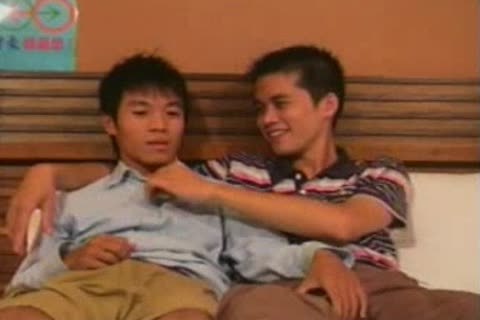 two Chinese boys Going At It