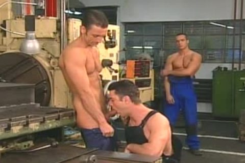 smutty males group-sex In Control Room