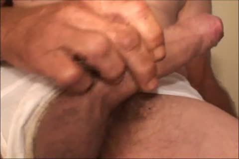 Just A scarcely any Minutes Of A video I Have, An old ugly man Shows His horny large Uncut bawdy ramrod And bawdy butthole