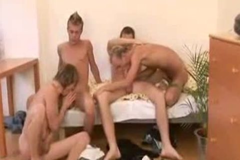 two twink Couples Share