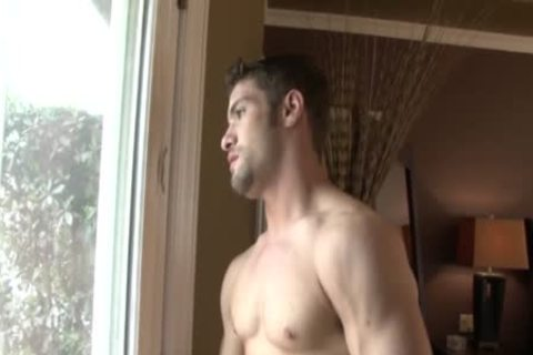 Cody Cummings Jerks Off whilst Spying On A naughty lad