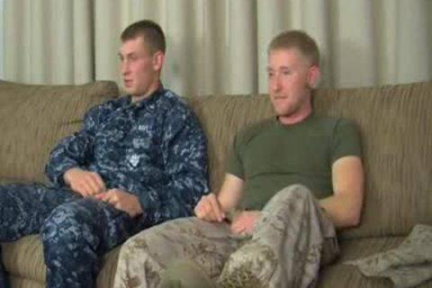 AAH - Petty Officer Aiden's First homo oral stimulation sex