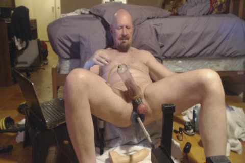 Longer video scene. Pumping My weenie And Going From James Deen To Jeff Stryker Then The Cyborg 8.0.