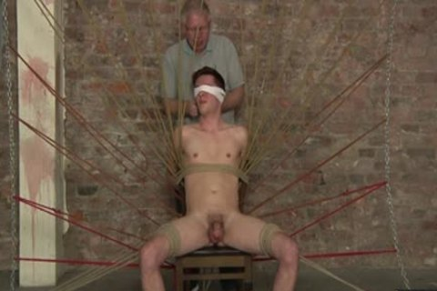 lusty bdsm jerking off