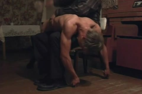 blond Muscle twink Spanked