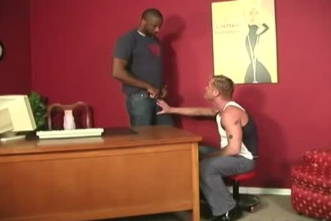 pumped up blonde receives Assbanged By Blacks