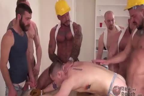 raw And rough : gangbang And raw