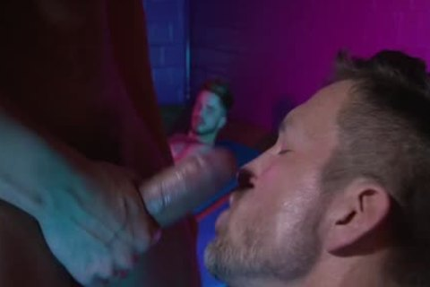 Muscle homo seduce With Creampie