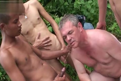 oriental Son piss With ball cream flow
