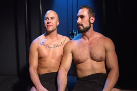 Muscle Bear spanking And ball batter flow