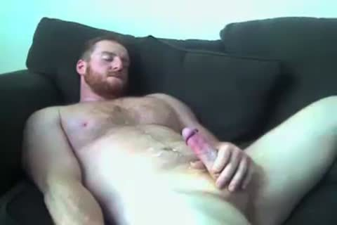 gigantic Furry Jackers Cums On cam