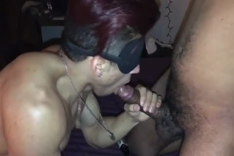 raw gangbang Blindfolded