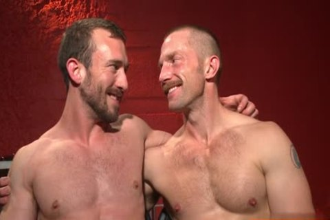 Muscle homosexual tied With Facial