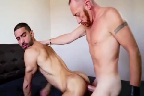 big penis Daddy & hairy wazoo Fucker