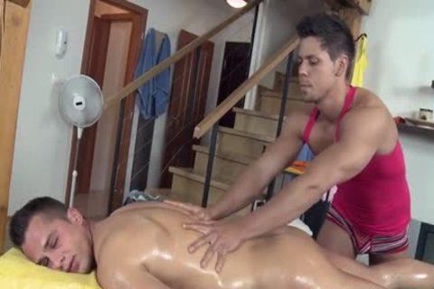 naughty Daddy ass stab And Massage