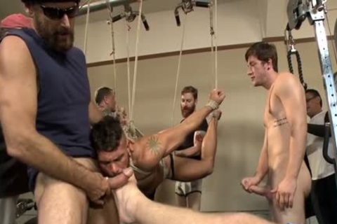 humongous cock villein tied With cumshot