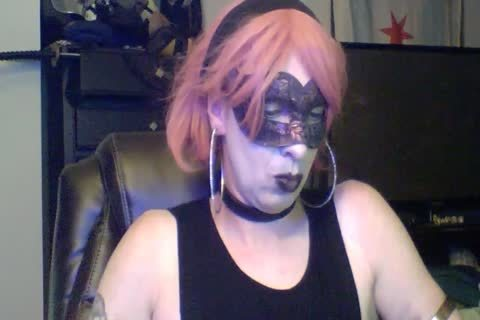 juicy Dancing Goth CD web camera Show (part two Of two)
