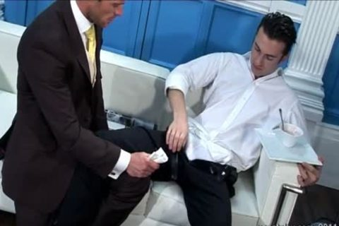Butler pounding His Boss