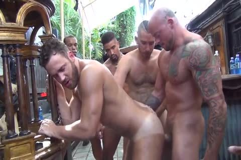 Logan Moore receives bunch gangbanged – Part two (2017)