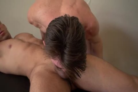 delicious homosexual blowjob-stimulation And Massage