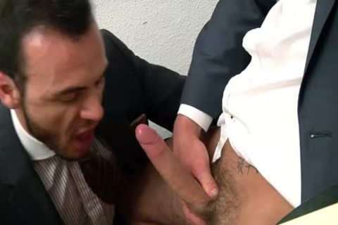 fellows In Suits Who Love To receive Hard together