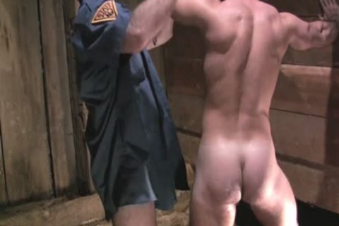 Two horny Policemen Fist fuck And Sodomise