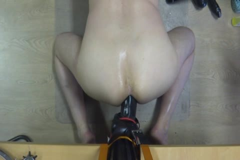 long Time Self Fuking With A large sex tool