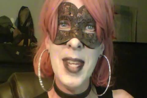 pretty Dancing Goth Cd cam Show Part 2 Of 2
