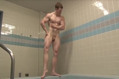 young Ginger Muscle Hunk