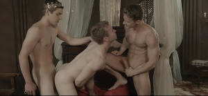 homosexual Of Thrones - Johnny Rapid & Gabriel Cross butthole Hump