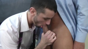 Car Jerk - Jake steel & Dominic Pacifico anal Hump