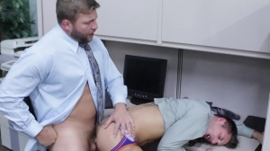 new Cubicle mate - Jd Phoenix and Colby Jansen ass Hook up