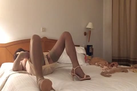 sex dildo In in nature's garb nylons And High Heels