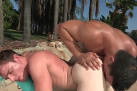 charming Outdoor Action By The Pool