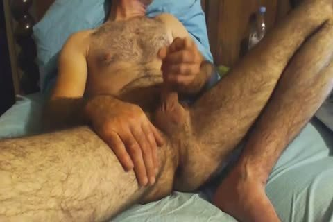 hairy older chap Grabs His cock And Wanks