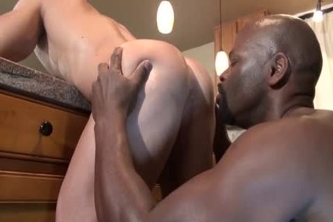 Loving That darksome cock