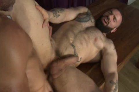 Manuel Skye & Max Hiltom drilling Each Other nude