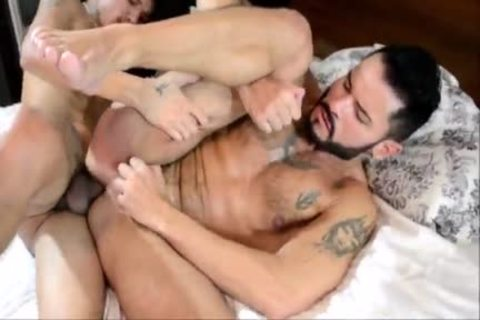 Latino With large Tattooed cock bonks ally bare