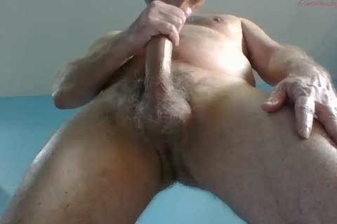 big Dicked daddy jerking off 023
