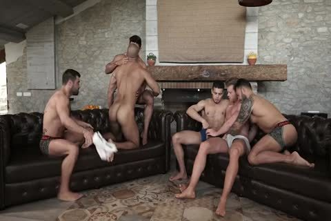 homosexual orgy bare unprotected