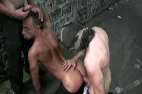 Tyron Deeply penetrated By 2 rough Masked fellows