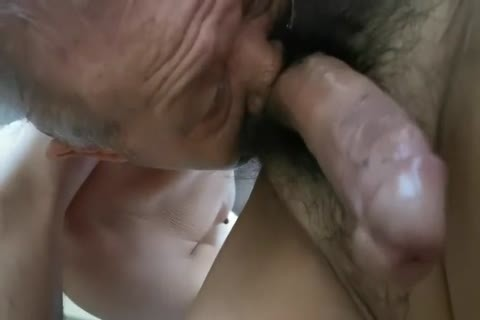 enjoyable Chinese old man sucking 10-Pounder & Getting pounded