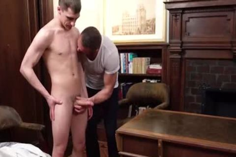 MormonBoyz naughty Daddy receives Serviced By A young Missiona