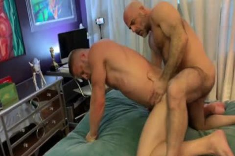 Logan Stevens And 2 Muscle males Breeding With Poppers