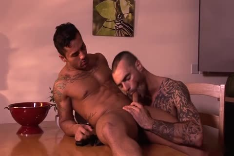 Bruno Bernal And Issac Jones Hung Suited And lascivious