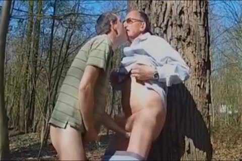 DADDY fucking old man IN THE WOODS 3