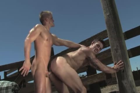 handsome Hunks Having Sex Outdoor