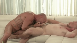 IconMale - Hairy athletic gay Scott Riley ass fuck HD