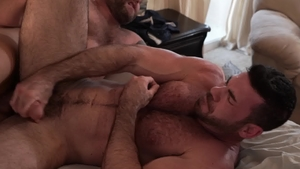 IconMale: Colby Jansen together with jock Billy Santoro rimjob