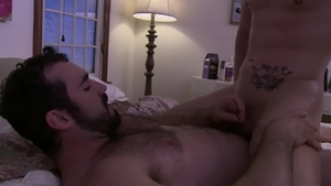 Icon Male: Athletic gay Roman Todd smashed by big penis guy